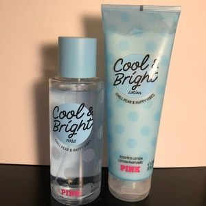 PINK Cool & Bright Mist & Lotion